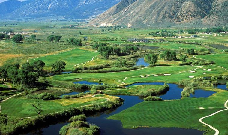 golfing in Tahoe