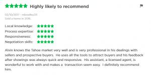 incline village real estate agent reviews